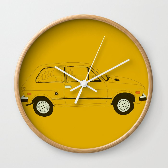 Yugo The Worst Car In History Wall Clock By Martinlucas Society6