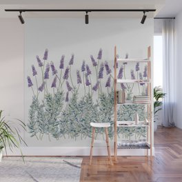 Lavender, Illustration Wall Mural