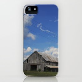 The farms are changing, Indiana farmland iPhone Case