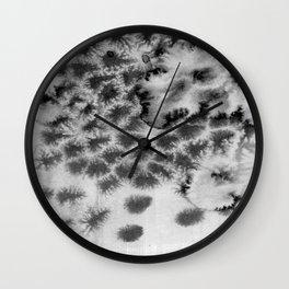 Melting black Wall Clock