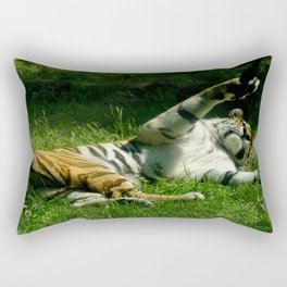 Resting Tiger Rectangular Pillow