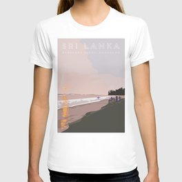 Ahangama, Sri Lanka Travel Poster T-shirt