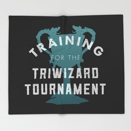 Training: Triwizard  Cup Throw Blanket