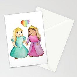 Activist Art: Live Your Best Life; Lesbian Princesses Stationery Cards