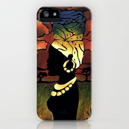 African Head-wrap iPhone Case
