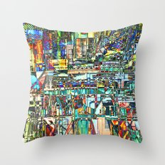 Ship Yard 1 Throw Pillow