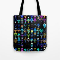 starfox Tote Bags featuring THE ULTIMATE 'AVENGER'S' ROBOTIC COLLECTION by We Are Robotic