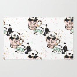 Panda Pattern 03 Rug