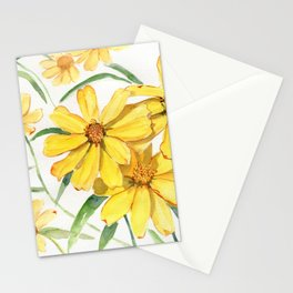 Sunny Flowers Perennial Stationery Cards