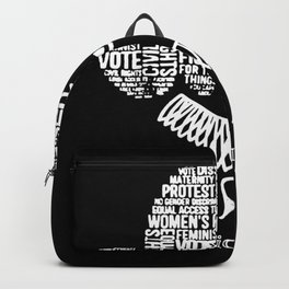 Notorious RBG Ruth Bader Ginsburg i dissent women Backpack