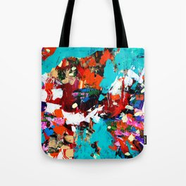Journey to the Center of the Earth Tote Bag