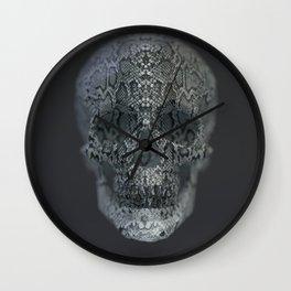 Snake Skull Wall Clock