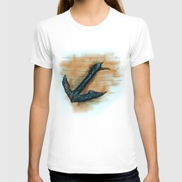 achor broken the ship T-shirt