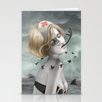 nurse Stationery Cards featuring The Nurse by Dolce Babanne