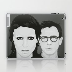Lisbeth and Mikael / The Girl with the Dragon Tattoo Laptop & iPad Skin