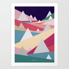 Landscape! Art Print