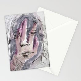 Hands watercolor Stationery Cards