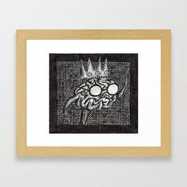King of The Brains Framed Art Print
