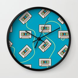 Cassette Fever Wall Clock
