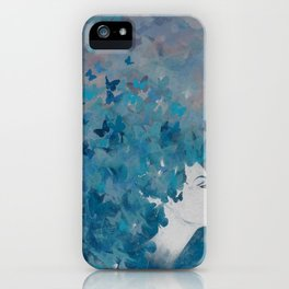 Flying Blues iPhone Case
