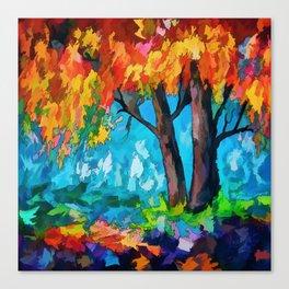 SUNRISE TREE Canvas Print