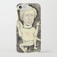 napoleon iPhone & iPod Cases featuring Napoleon Dynamite by withapencilinhand