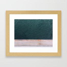 gap Framed Art Print