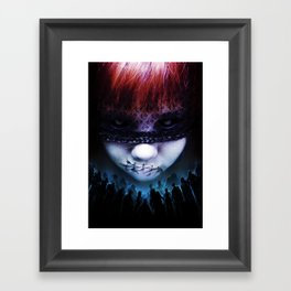 Leave A Scar Framed Art Print