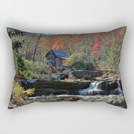 Autumn In West Virginia Rectangular Pillow