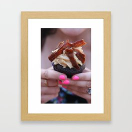 Cuppy Cake Framed Art Print