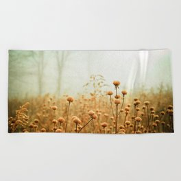 Daybreak in the Meadow Beach Towel