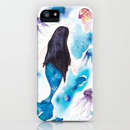 Blue and her jelly friends iPhone Case
