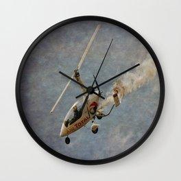 Autogyro Wall Clock