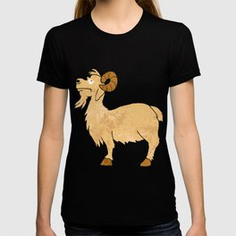 funny Goat cartoon. T-shirt