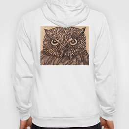 Fierce Brown Owl Hoody