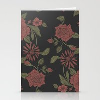 flora Stationery Cards featuring Flora by Norman Duenas