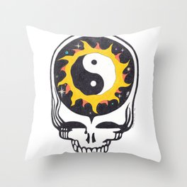 Space your Face Throw Pillow