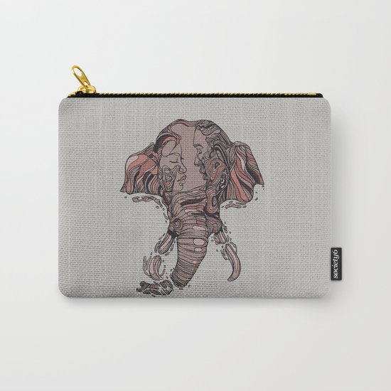 I Forget Where We Were Carry-All Pouch