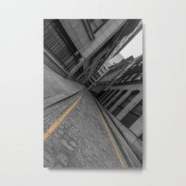 Mile End Metal Print