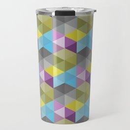 Tangrams Pattern Travel Mug