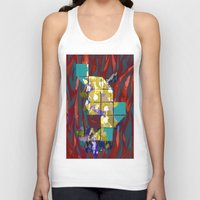 plants Tank Tops featuring plants by ebdesign