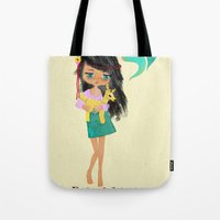 friendship Tote Bags featuring friendship by Elisandra Sevenstar