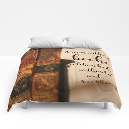 A room without books Comforters