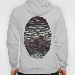 Ripples Fractal in Mint Hot Chocolate Hoody