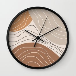 Abstract Shape IV Wall Clock