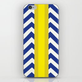 George Summer Chevron iPhone Skin