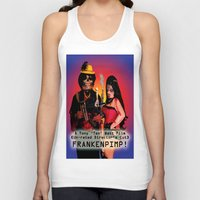 movie poster Tank Tops featuring Frankenpimp (2009) - Movie Poster by Tex Watt