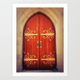Heavenly Door Art Print