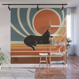 Evening time Wall Mural
