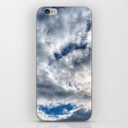 Stormy skies iPhone Skin